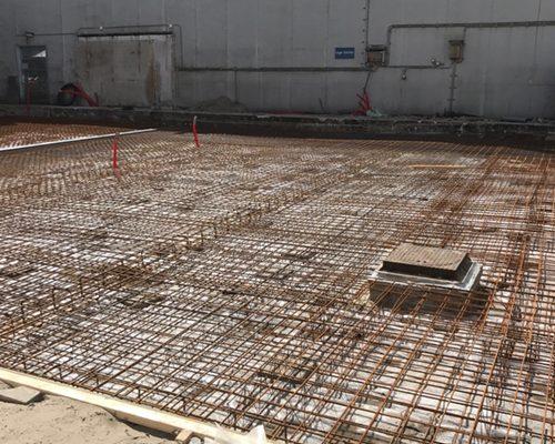 Storten betonvloer RAI